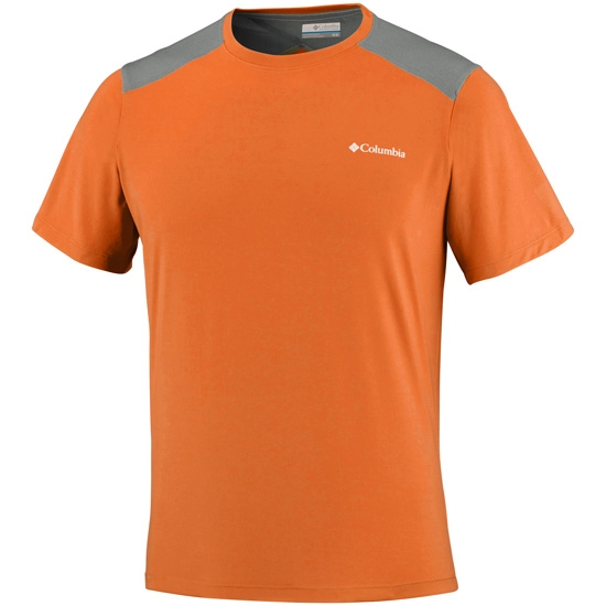 Columbia Triple Canyon Tech Tee - Valencia/Cypress