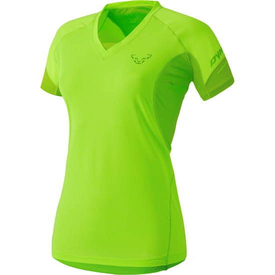 Dynafit Vertical S/S Tee W - Fluo Yellow