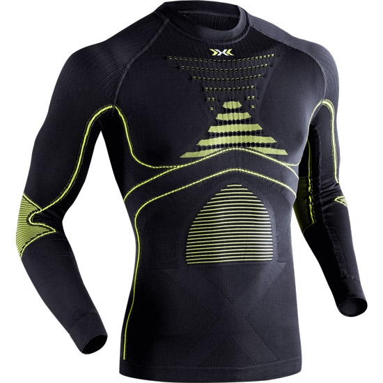 X-bionic Evo Shirt - Charcoal/Lime