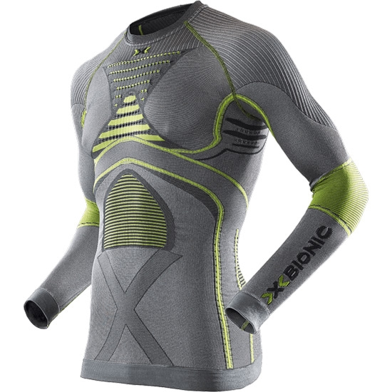 X-bionic Radiactor EVO SL Shirt - Iron/Yellow