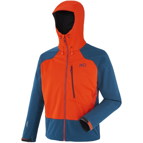 Millet Alpinist WDS Hoodie - Orange/Poseidon