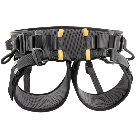 Petzl Falcon Ascent - Negro/Amarillo
