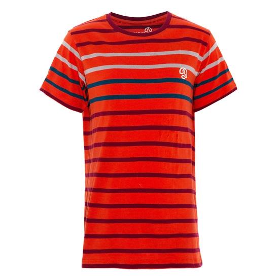 Ternua Treas Jr - Orange/Red Stripes