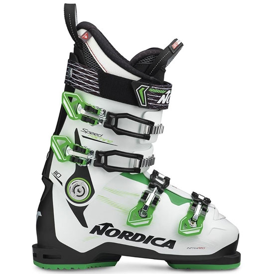 Nordica Speedmachine 110 Thermoformable - Black/White/Green