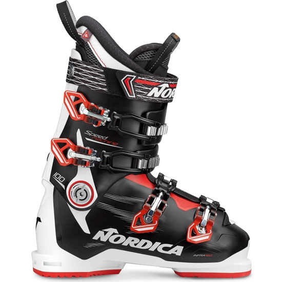 Nordica Speedmachine 100 Thermoformable - White/Black/Red