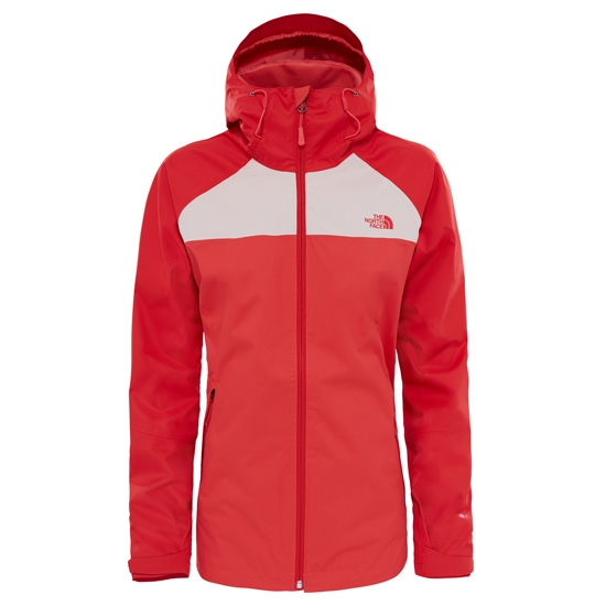 The North Face Sequence Jacket W - Cayenne Red/Tropical Peach