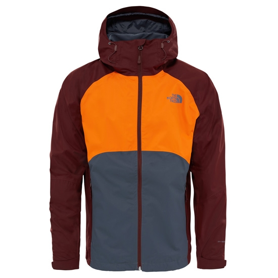 The North Face Sequence Jacket - Vanadis Grey/Exuberance Orange/Sequoia