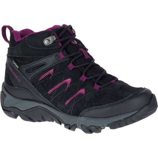 Merrell Outmost Mid Vent GTX W - Black