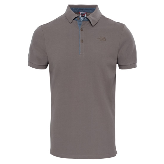 The North Face Premium Polo Piquet - Falcon Brown