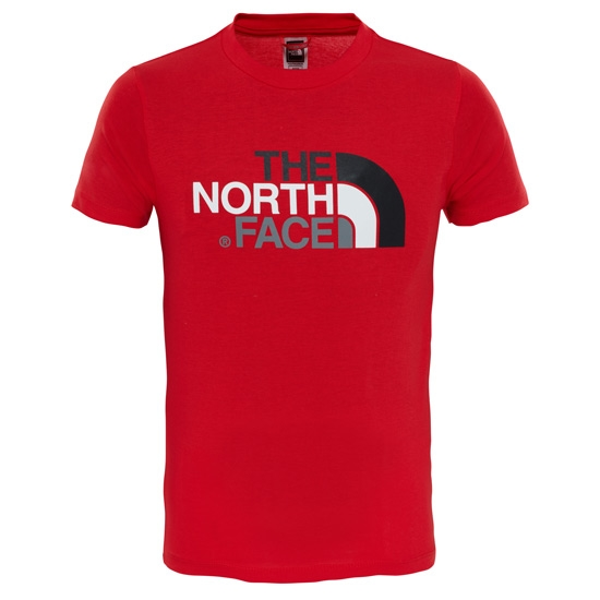 The North Face S/S Easy Tee Y - High Risk Red