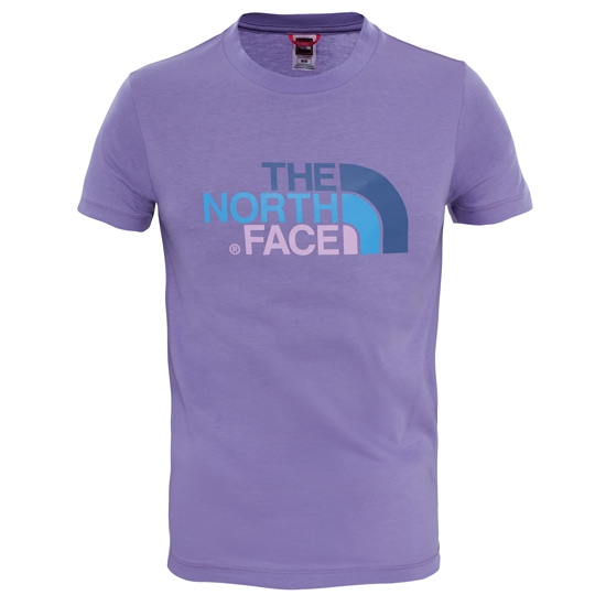 The North Face S/S Easy Tee Y - Paisley Purple