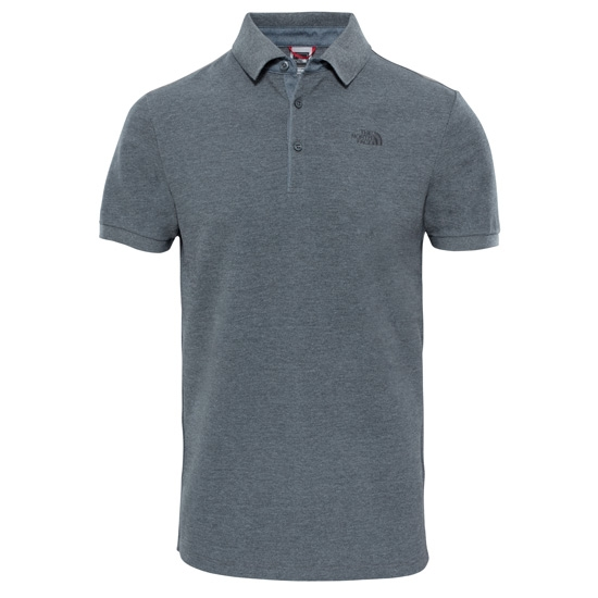 The North Face Premium Polo Piquet - Tnf Heather Grey