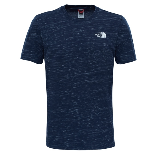 The North Face S/S Red Box Tee - Urban Navy/Tnf White Novely
