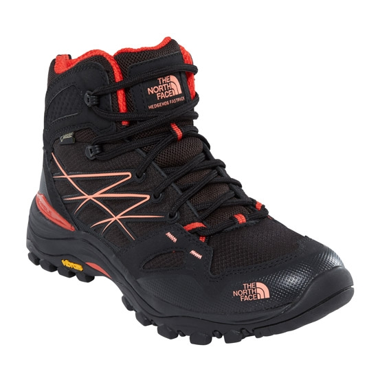 The North Face Hedgehog Fastpack Mid GTX W - TNF Black/Fire Brick Red