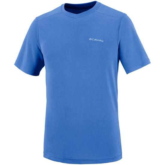 Columbia Sun Ridge Novelty S/S V-Neck - Stormy Blue