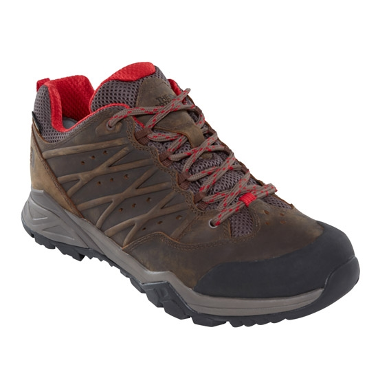 The North Face Hedgehog Hike GTX II - Bone Brown/Rage Red
