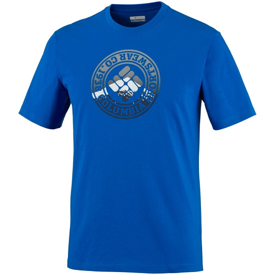 Columbia CSC Tried And True S/S Tee - Super Blue