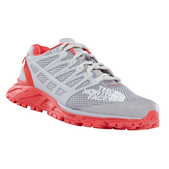 The North Face Ultra Endurance II W - Asheso Froses Grey/Juice Red