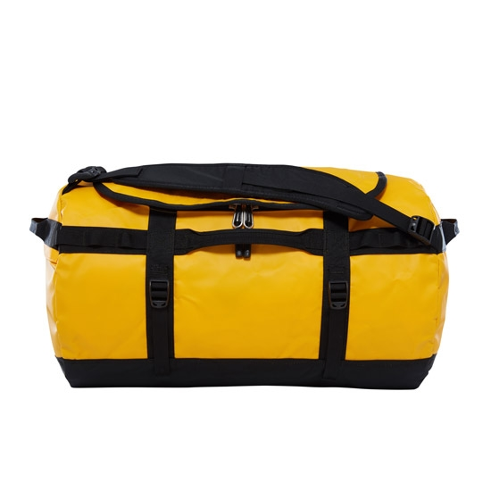 The North Face Base Camp Duffel S - Summit Gold/Tnf Black