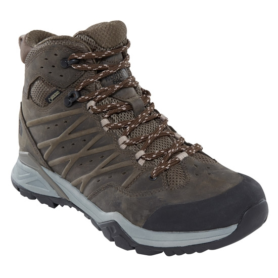 The North Face Hedgehog Hike II Mid GTX - Tarmac Green/Burntoli