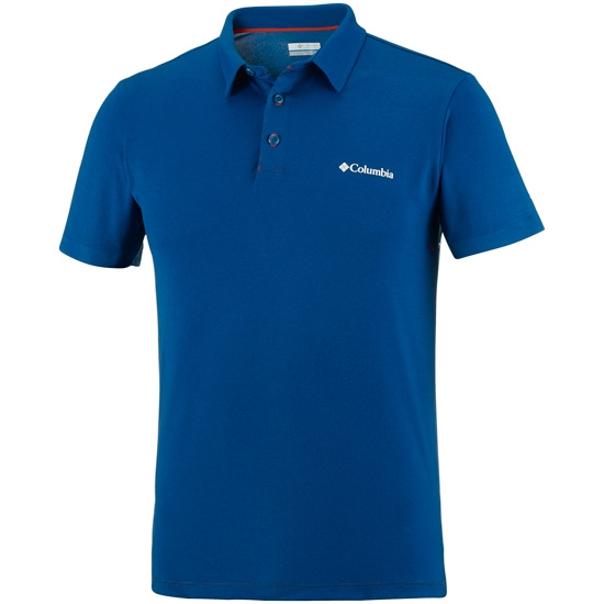 Columbia Triple Canyon Tech Polo - Marine Blue