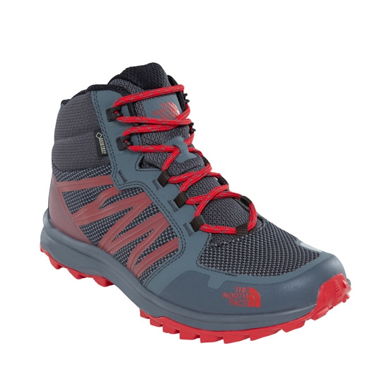 The North Face Litewave Fastpack Mid GTX - Turbulence Grey/TNF Black