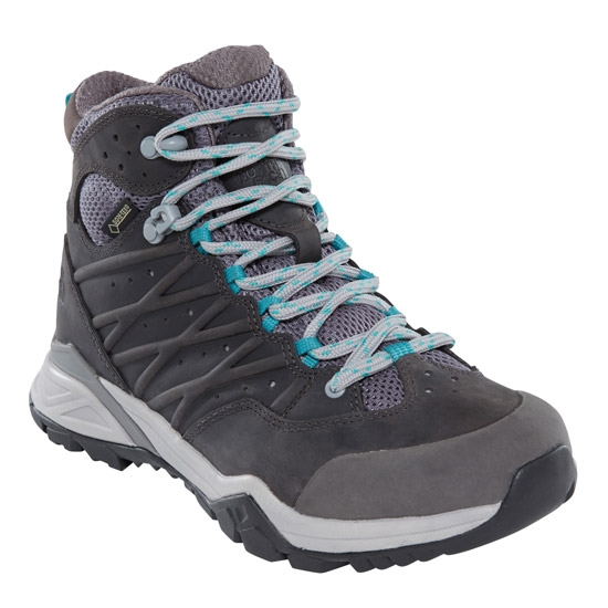 The North Face Hedgehog Hike II Mid GTX W - Silver Grey/Porcelain Grey