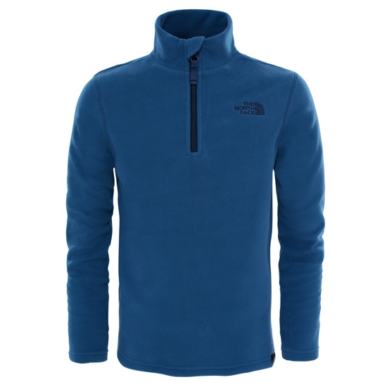 The North Face Glacier 1/4 Zip Youth - Shady Blue