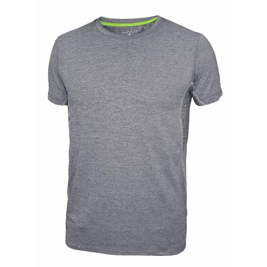 Campagnolo Melanget T-Shirt Jr - Blue Melange