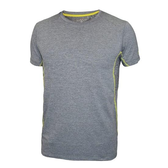 Campagnolo Melanget T-Shirt Jr - Antracita Melange