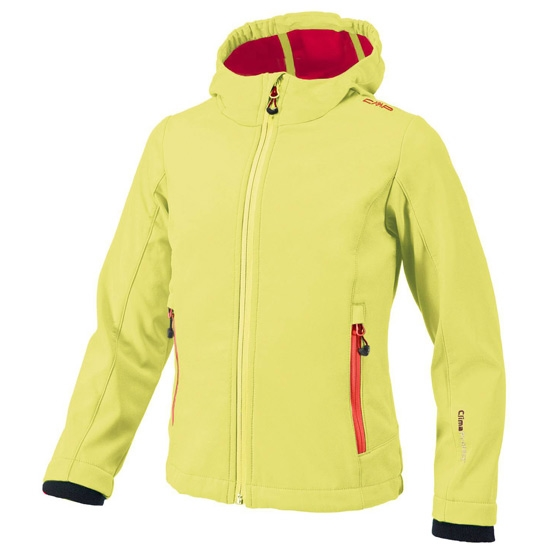 Campagnolo Softshell Jacket Girl - Apple