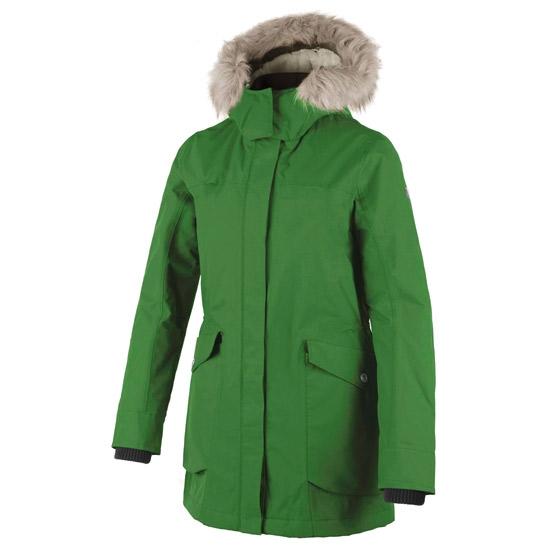 Campagnolo Parka Zip Hood Long Jacket W - Cedar