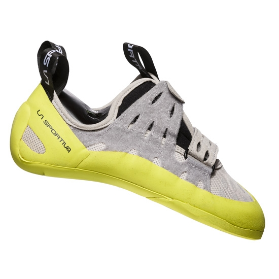 La Sportiva Geckogym W - Grey/Apple Green