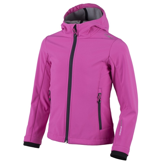 Campagnolo Softshell Jacket Girl - Hot Pink