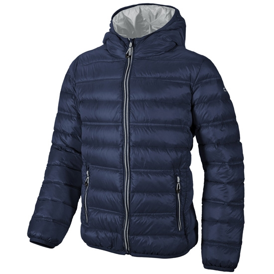 Campagnolo Fix Hood Down Jacket Jr - Blue/Argento