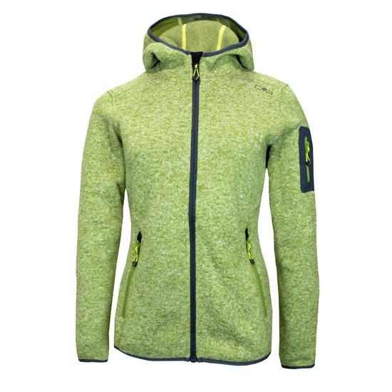 Campagnolo Fleece Fix Hood Jacket W - Apple