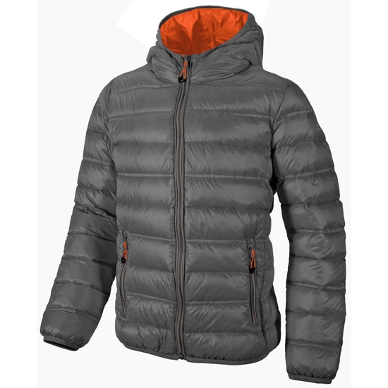 Campagnolo Fix Hood Down Jacket Jr - Grey