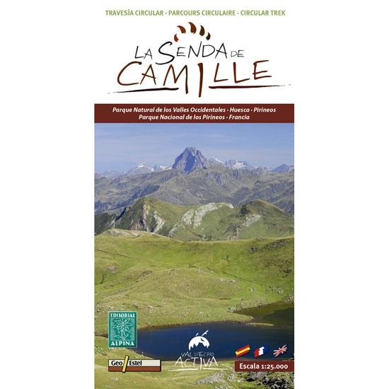 Ed. Alpina Mapa La Senda de Camille 1:25000 -