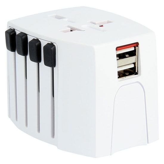 Lifeventure USB World Travel Adaptor -