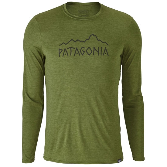 Patagonia Capilene Daily L/S Graphic T-Shirt - Sprouted Green X-Dye
