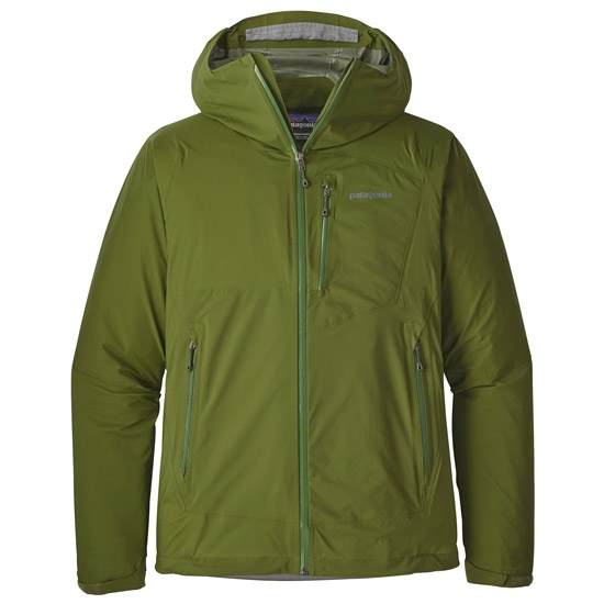 Patagonia Stretch Rainshadow Jacket - Sprouted Gree