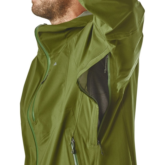 Patagonia Stretch Rainshadow Jacket - Photo of detail