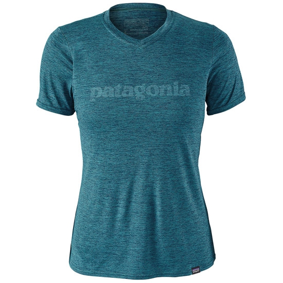 Patagonia Capilene Daily Graphic T-Shirt W - Elwha Blue