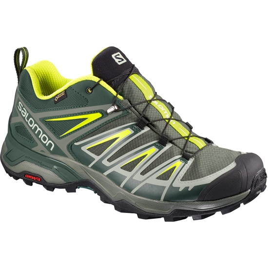 Salomon X Ultra 3 GTX - Castor Gray/Darkest Spruce