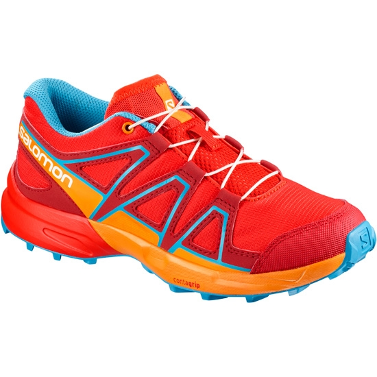 Salomon Speedcross Jr - Fiery Red/Bright Marigold