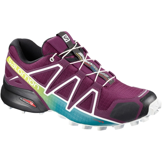 Salomon Speedcross 4 W - Dark Purple/White