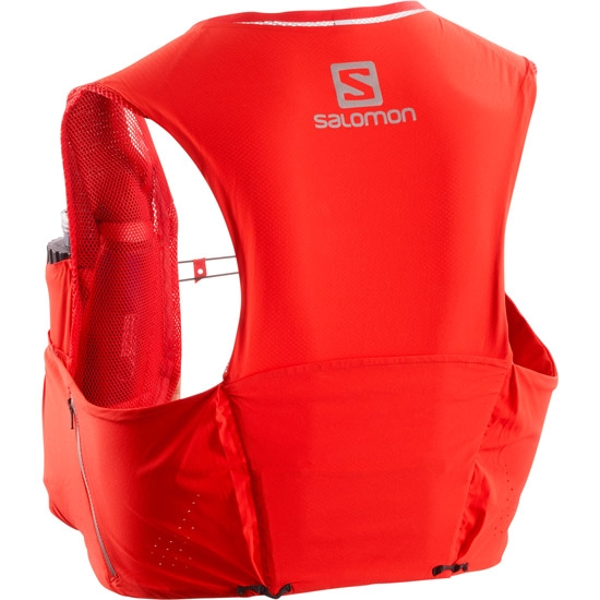 Salomon S-lab S/Lab Sense Ultra 5 Set - Racing Red