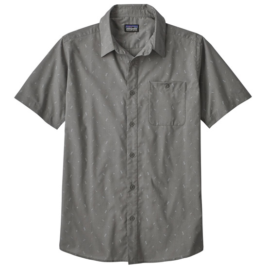 Patagonia Go to Shirt - Rockwall: Feather Grey