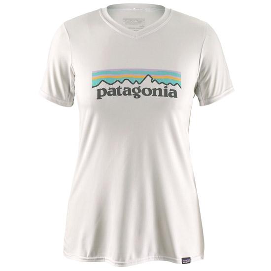 Patagonia Capilene Daily Graphic T-Shirt W - Pastel P-6 Logo: White