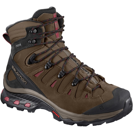 Salomon Quest 4D 3 Gtx W - Teak/Teak/Tibetan Red
